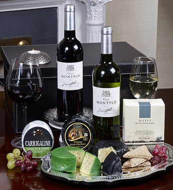 Wine Cheese  Crackers Gift Set