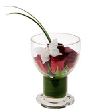 Red Rose Goblet