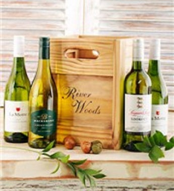 River Woods Crate of White Wine