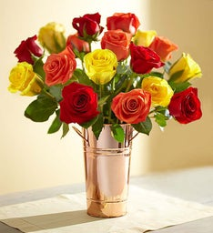 Autumn Roses + Free Shipping