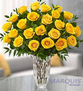 Marquis by Waterford® Premium Yellow Roses