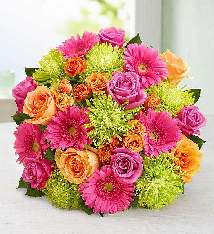 Vibrant Blooms Bouquet Double Bouquet Only