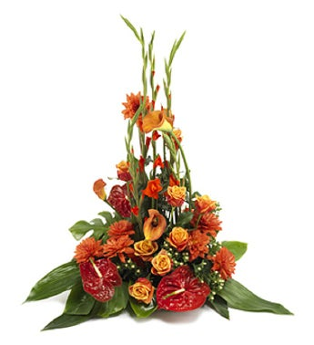 Tropical Funeral Arrangement