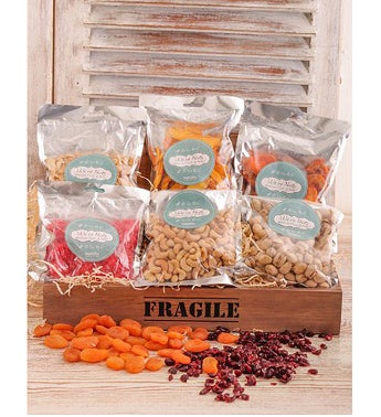 Dried Fruit and Nut Crate