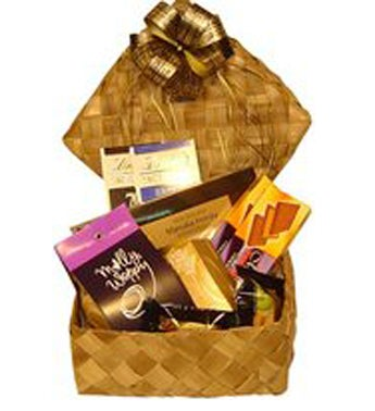 Assorted Chocolate and Cookie Basket