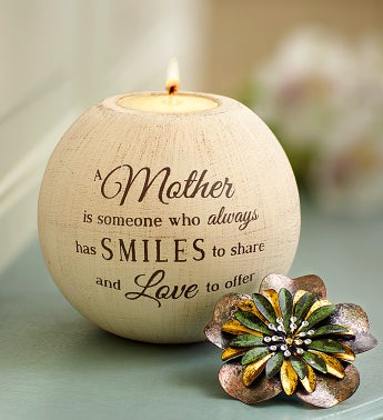 Mother's Inspirational Candle