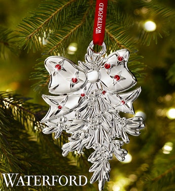 Waterford® Mistletoe Ornament