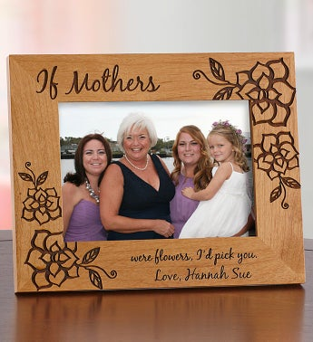 Personalized Wood Frame for Mom or Grandma