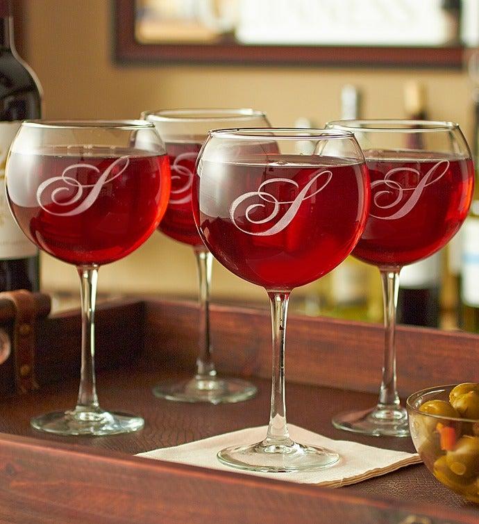 4-Set of Wine Glasses