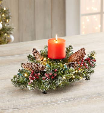 Christmas Lights Centerpiece
