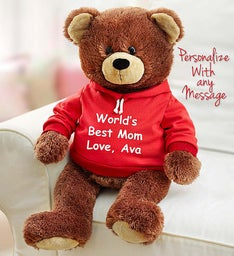 Personalized Gund® Bear and Cheryl's Cookies