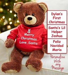 Personalized Holiday Gund® Bear