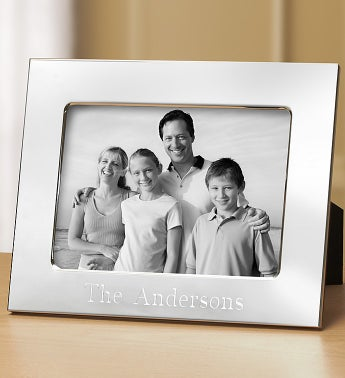 Personalized Silver Frame - 5x7   1800Flowers.com-139263
