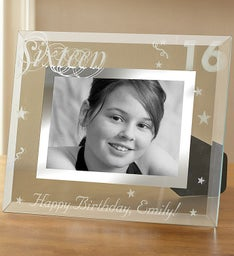 Personalized Milestone Frame- 16,21,30,40 or 50