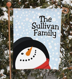 Personalized Seasonal Garden Flags