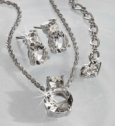 SWAROVSKI® Brilliance Pendant and Earring Set