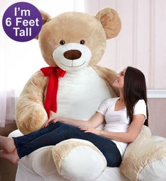 Beary Big 6' Giant Plush Bear