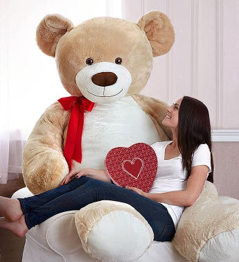 Lotsa Love® Beary Big Bear™ With Truffles