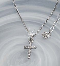SWAROVSKI® Crystal Cross Necklace