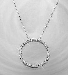 Brilliant Circle Pendant