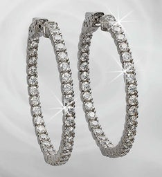 Brilliant Hoop Earrings