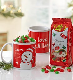 Personalized Artisan Mug with Jelly Belly®