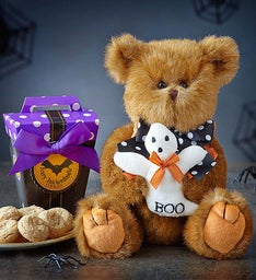 Beary Spooky Bearington® Bear with Cookies