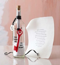 Message in a Bottle® Key to My Heart