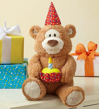 Happy Birthday Animated Bear by Gund® Happy Birthday Animated Bear
