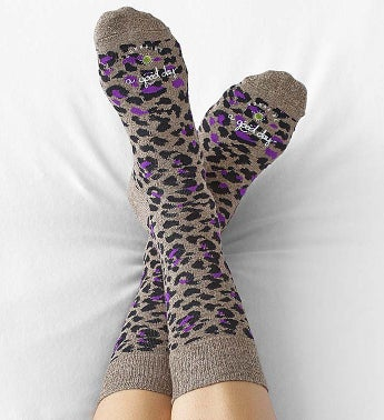 Good Day Leopard Socks for Women