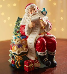 Waterford® Santa's List Christmas Cookie Jar