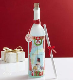 Personalized Message in a Bottle® Merry Christmas