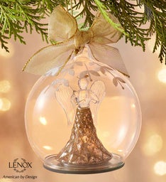 Lenox® Holiday Angel Wonderball Lit Ornament