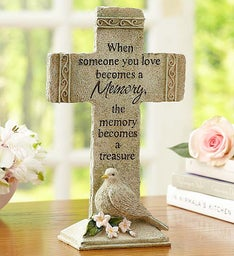 Treasured Memories Cross