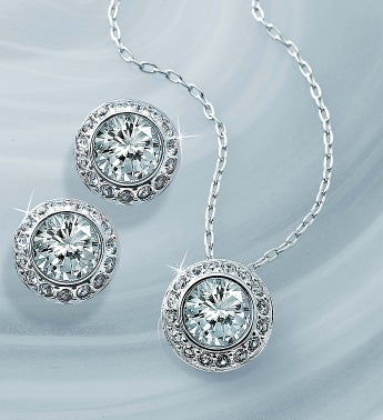 Swarovski® Angelic Crystal Jewelry Set