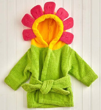 Baby Aspen Hooded Flower Robe