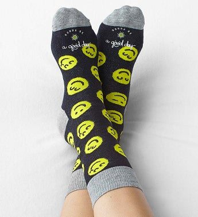 Good Day Smiley Socks