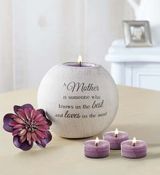 A Mother's Love Candle