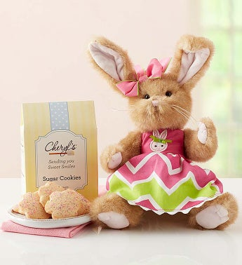 Bearington® Easter Bunny with Cookies