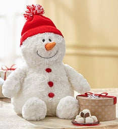 Gund® Snowman Plush with Chocolate
