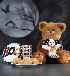 Beary Spooky Bearington® with Cheryl's Cookies