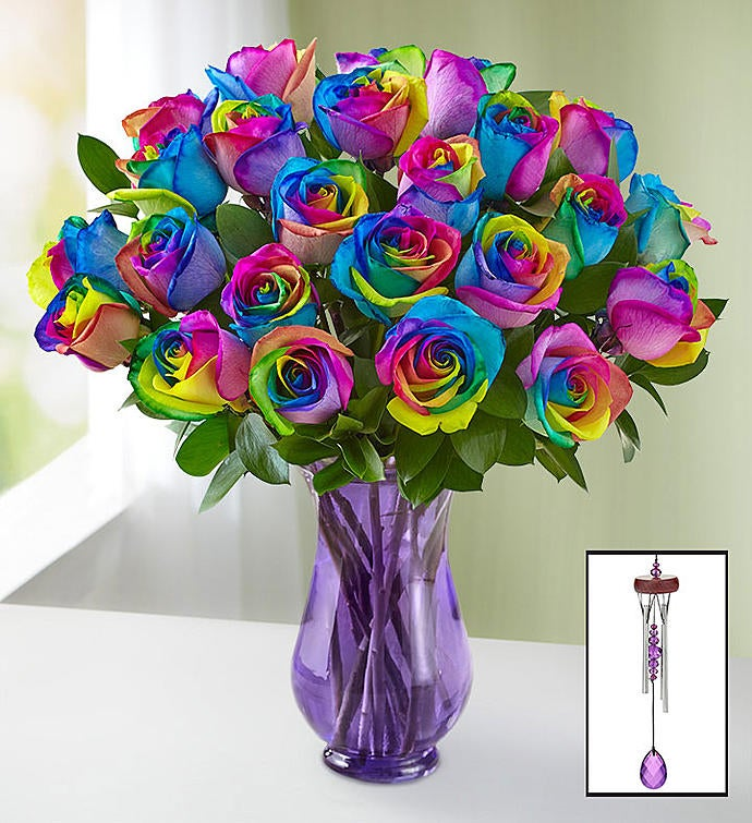 Kaleidoscope Roses  Stems