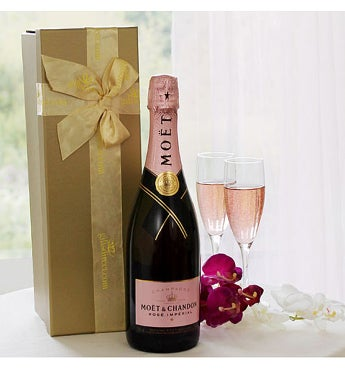Rose Moet & Chandon NV Pink Champagne 582175