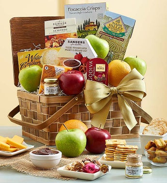 Artisan Medley® Fruit and Gourmet Basket