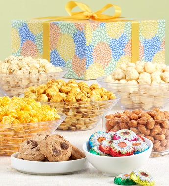 April - Popcorn Factory Spring Sampler Box