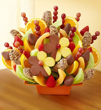 Generous Chocolate and Fruit Tray