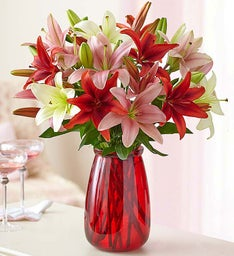 Lovely Lilies, 25-50 Blooms