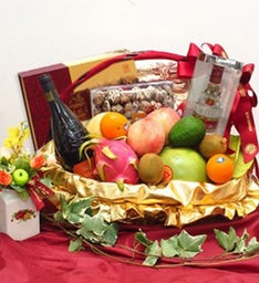 Ultimate Autumn Harvest Fruit Basket