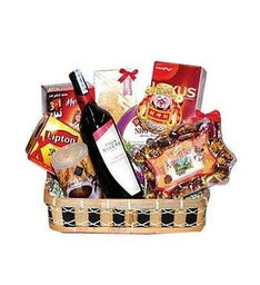 Vine Celebration Gift Basket
