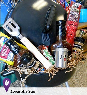 Mini Grill Gift Basket